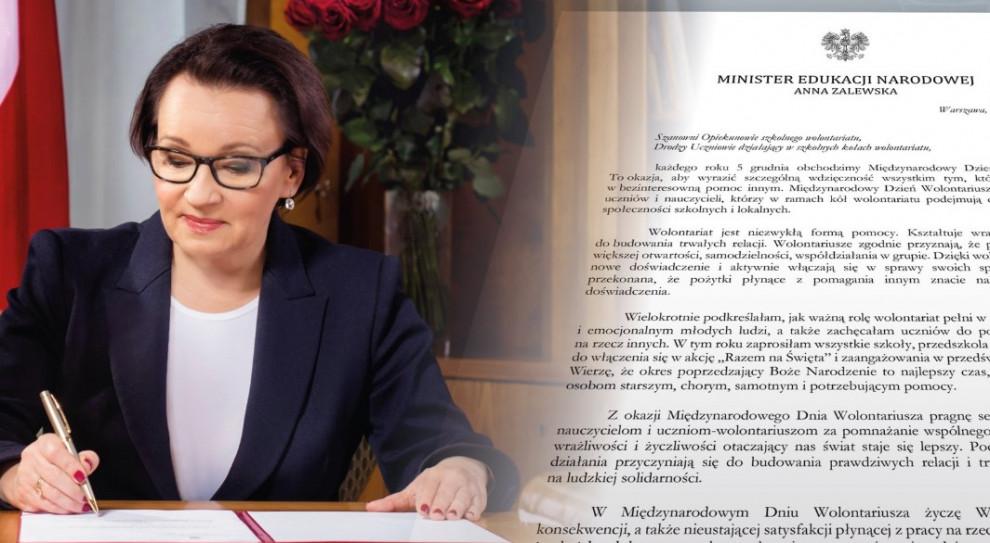 Minister do wolontariuszy: Dzięki waszej wrażliwości i życzliwości świat staje się lepszy