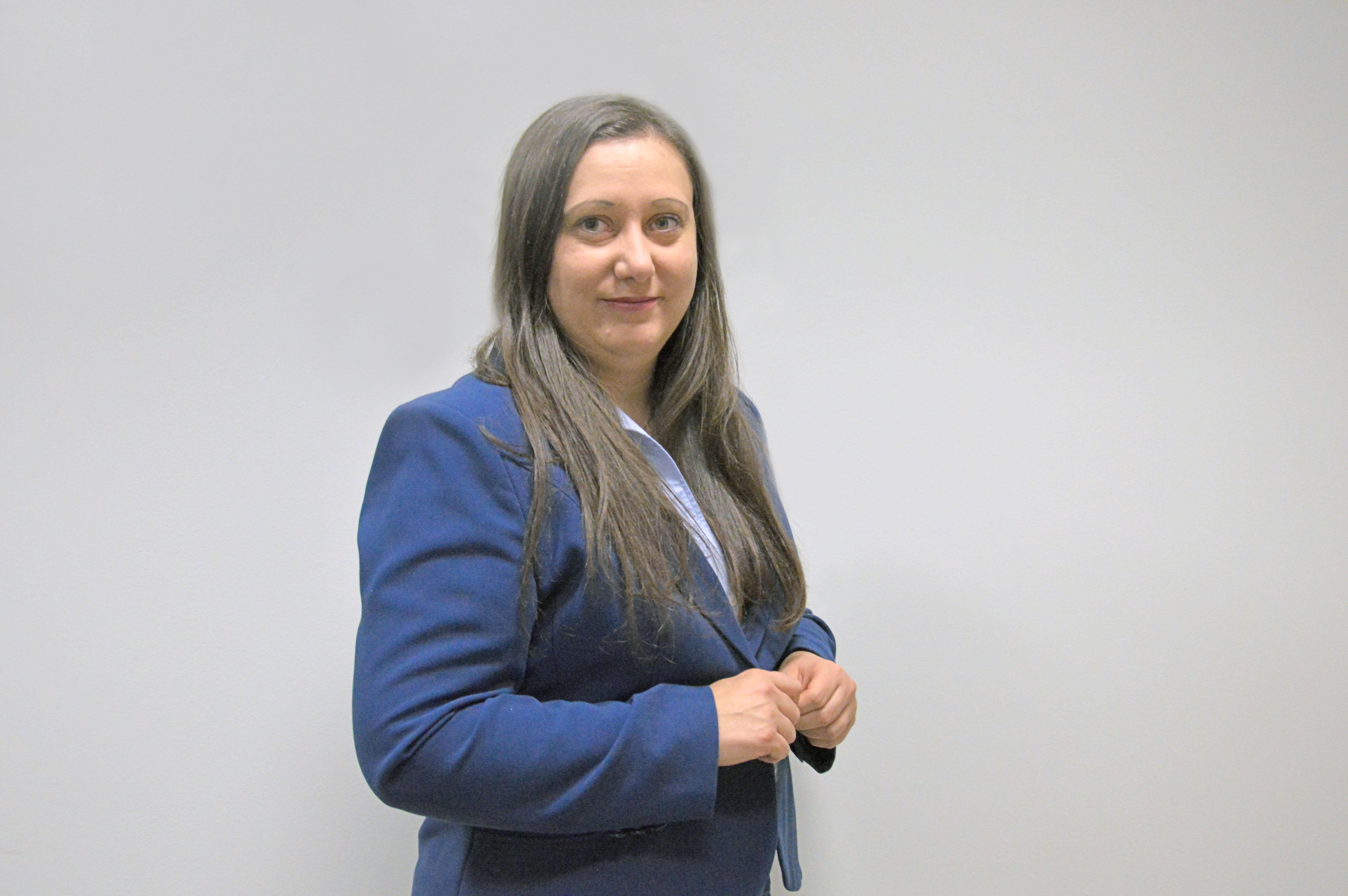 Irmina Gocan (fot. Poczta Polska)