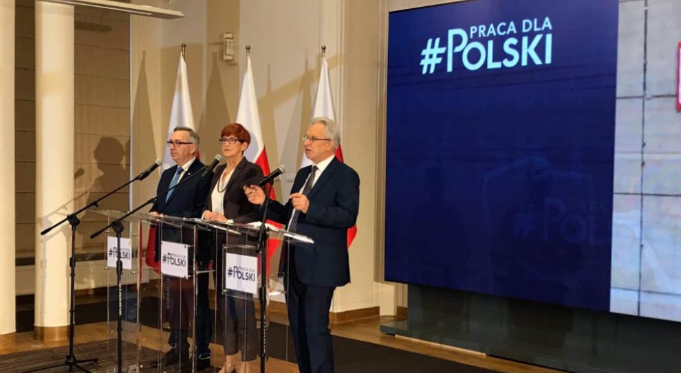 Minister Rafalska chwali się rekordem. Tak wysokiej liczby pracujących Polaków nie było