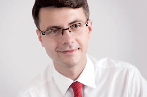 Wiceminister nauki i szkolnictwa wyższego Piotr Mueller. (fot. facebook)