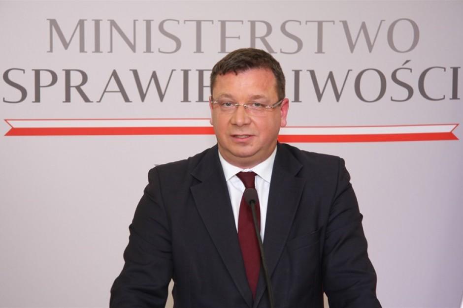 Wiceminister sprawiedliwości Michał Wójcik (fot. Ministerstwo Sprawiedliwości)