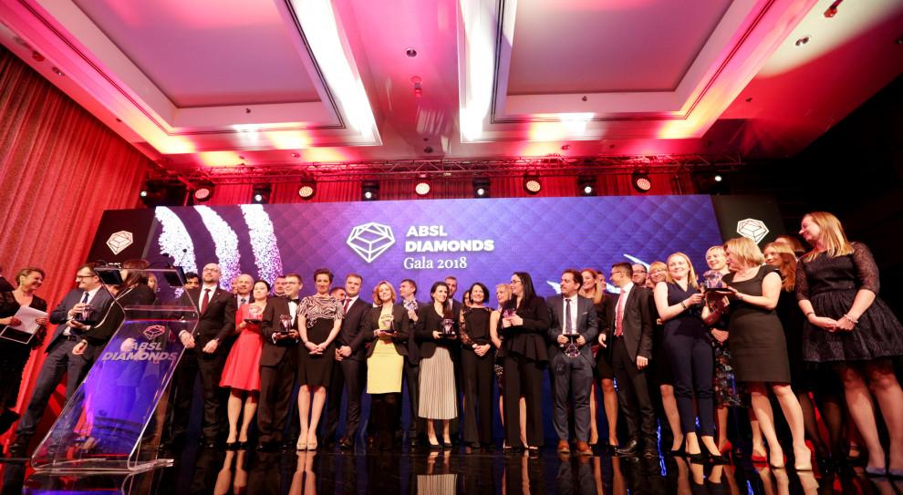 Dziesięć innowacyjnych projektów z wyróżnieniami ABSL Diamonds Awards 2018