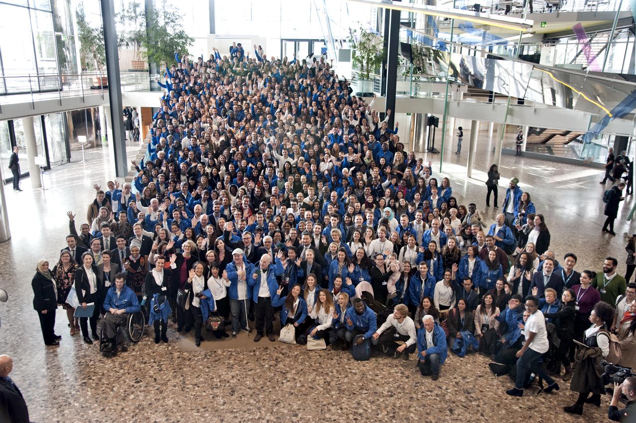 Wolontariusze to nieodłączny element kolejnych szczytów (fot. United Nations Volunteers)
