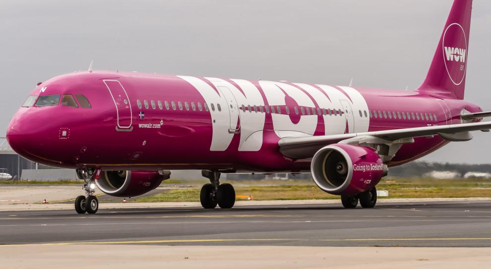 Tania linia lotnicza Wow Air zwalnia. 111 pracowników pożegna się z pracą