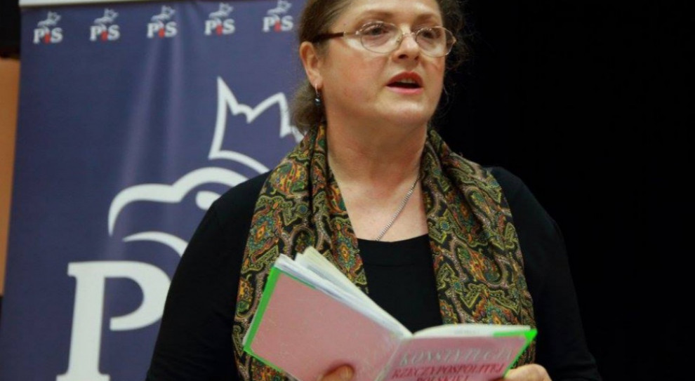 Posłanka Krystyna Pawłowicz żegna się z polityką