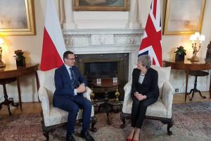 Morawiecki porozmawia z May o Polakach w Wielkiej Brytanii