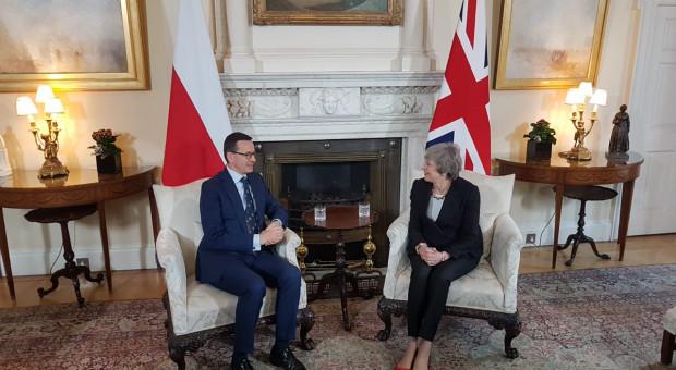 Brexit. Morawiecki porozmawia z May o Polakach w Wielkiej Brytanii