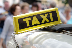 Kolejny kraj i kolejny protest taksówkarzy