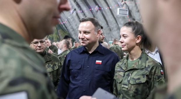 Prezydent wysoko stawia bezpieczeństwo żołnierzy Wojska Polskiego