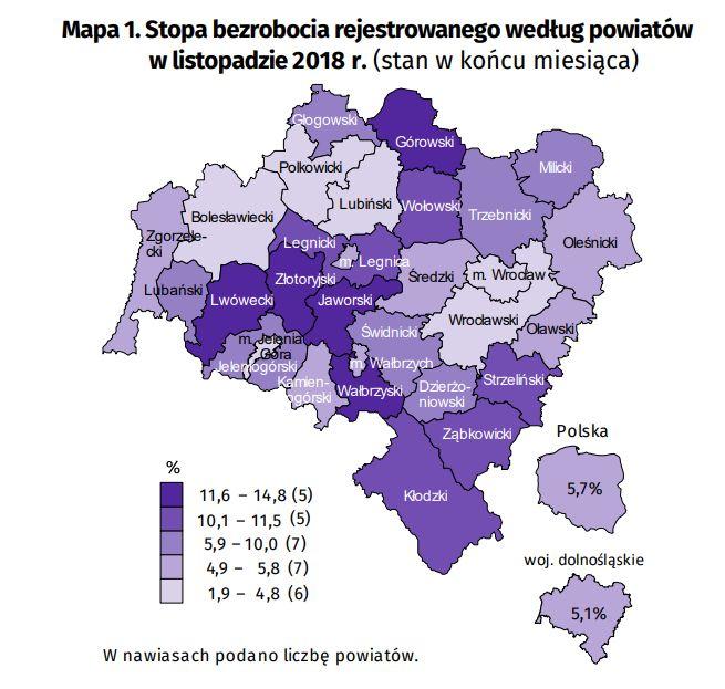 Źródło: Urząd Statystyczny we Wrocławiu