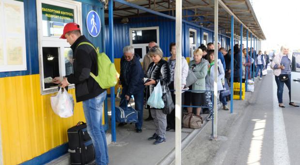 Na przejściach granicznych padł rekord. Pracownicy z Ukrainy wrócili do domu na święta