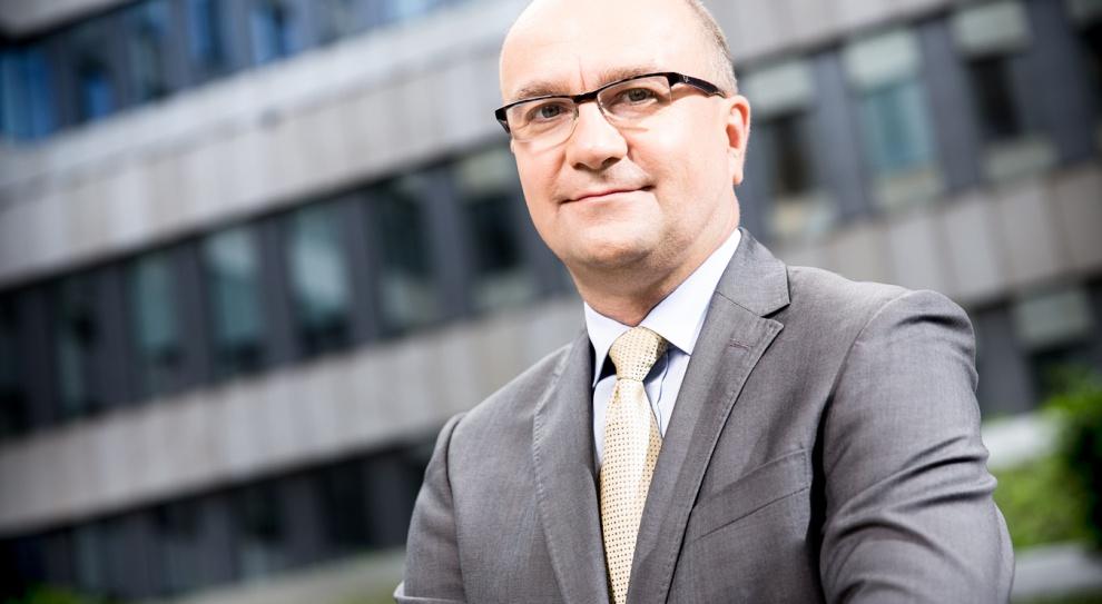 Jacek Łukaszewski, prezes Schneider Electric w Polsce. Fot. Mat. pras.