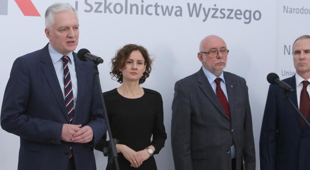 Wicepremier i minister nauki Jarosław Gowin (fot. MNiSW/gov.pl)