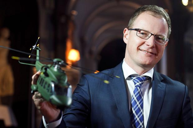 Przemysł obronny należy do najbardziej innowacyjnych branż - twierdzi Krzysztof Krystowski(fot. NP)