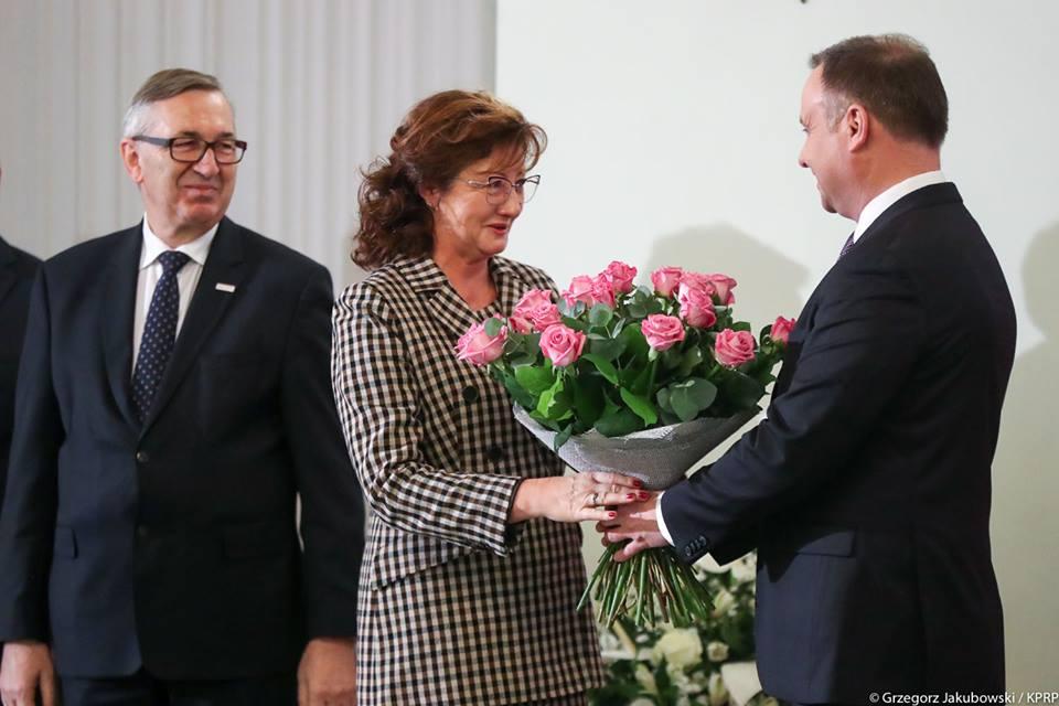 Dorota Gardias objęła funkcję przewodniczącej RDS jesienią 2018 roku (fot. Facebook/Dorota Gardias)
