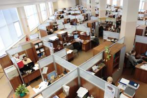 Polski pracownik zadowolony z pracy i pełny optymizmu