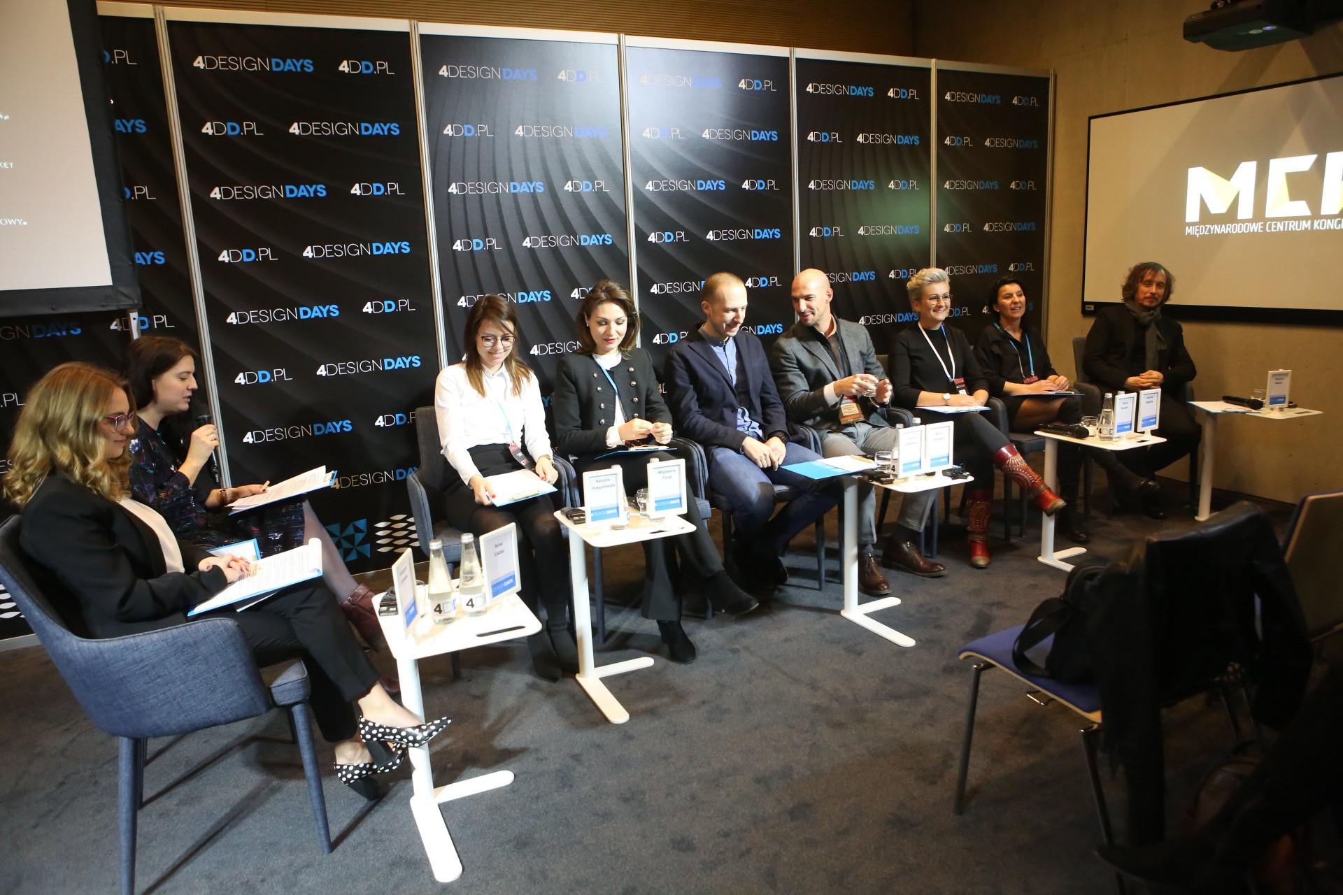 Goście 4DD debatujący o nieruchomościach komercyjnych (fot. PTWP)