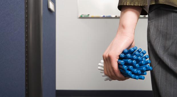 Kradzież w pracy. Znikają nie tylko długopisy czy spinacze