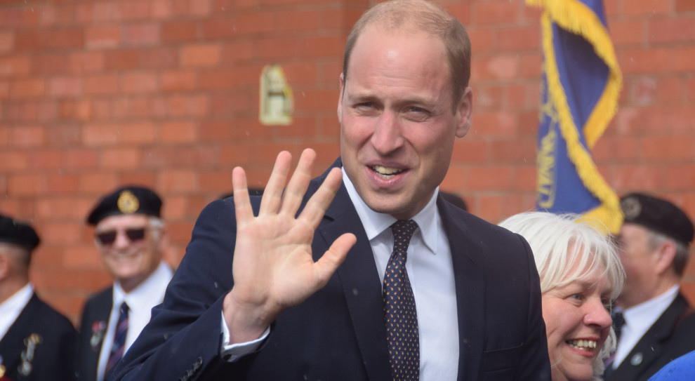 Książę William podniósł na duchu zatroskanych, zwalnianych pracowników
