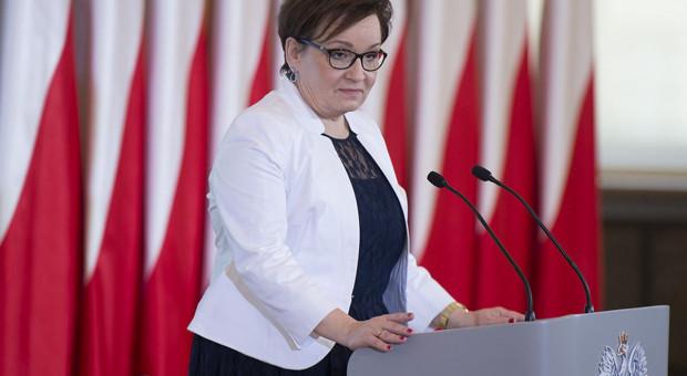 Anna Zalewska ma za sobą dobre spotkanie ze związkowcami