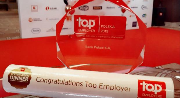Accenture Polska, BGK, PepsiCo, Orange Polska, Orlen z tytułem Top Employers 2019