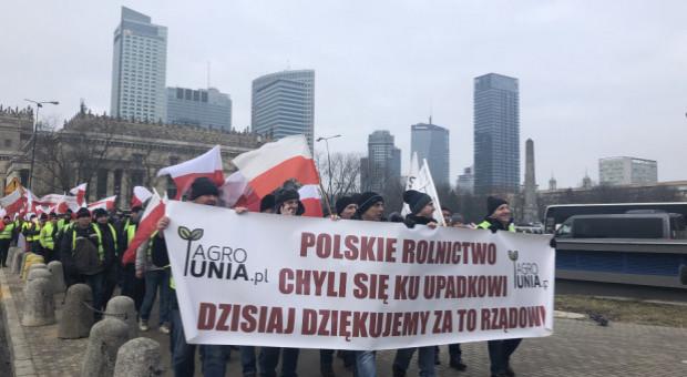 Koniec protestu rolników pod Pałacem Prezydenckim
