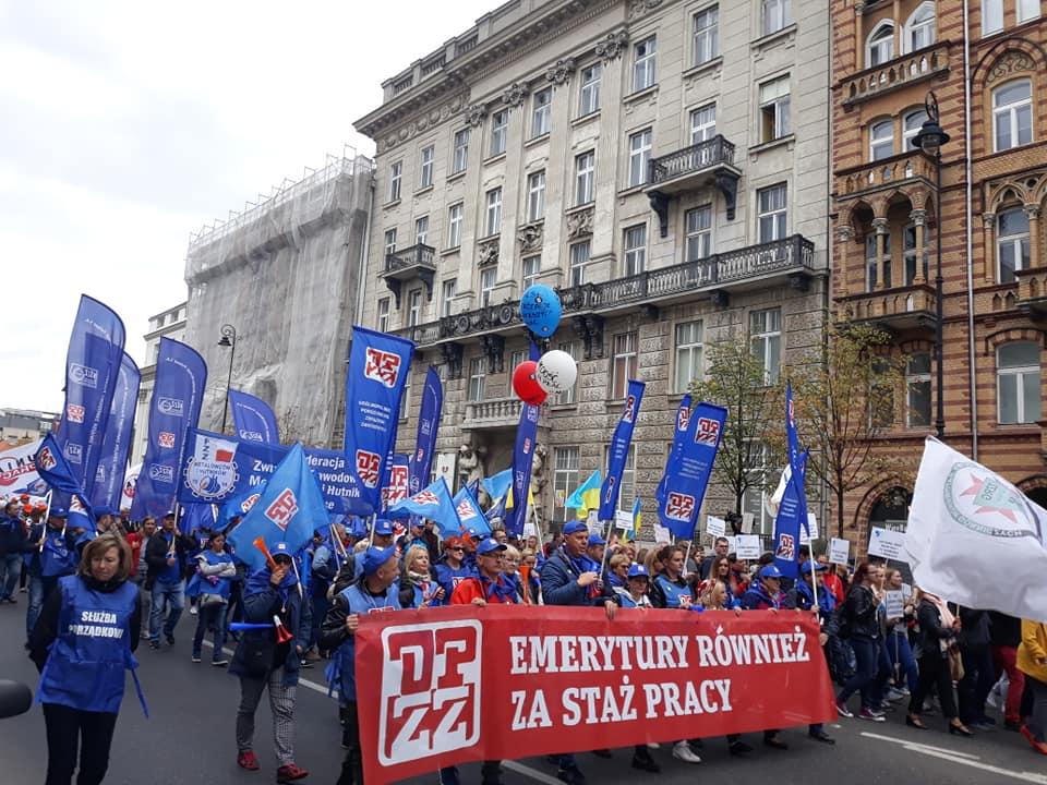 fot. Facebook/Ogólnopolskie Porozumienie Związków Zawodowych