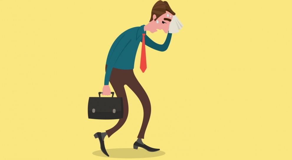 Bardzo często zwolnienie lekarskie wiąże się z warunkami pracy. (Fot. Shutterstock)