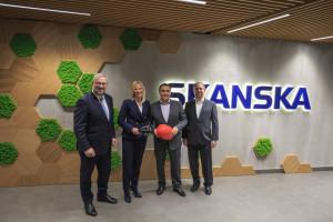 Microsoft i Skanska stworzą nowy wymiar biurowych innowacji