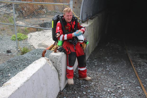 Tomasz Ciupa, ratownik górniczy