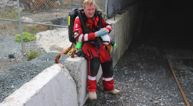 Ratownik górniczy: walka o życie górników zawsze trwa do samego końca