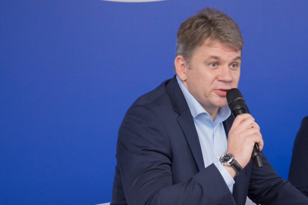 Rafał Piwowarski, dyrektor fabryki Danone w Bieruniu (for. materiały prasowe)