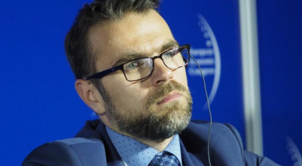 Prezes spółki celowej do realizacji CPK Jacek Bartosiak zrezygnował z funkcji