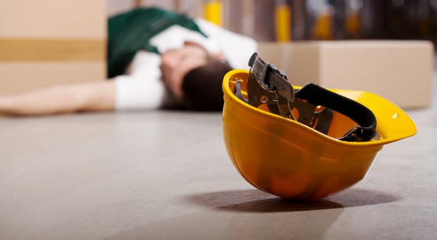 W 2019 roku mniej wypadków przy pracy