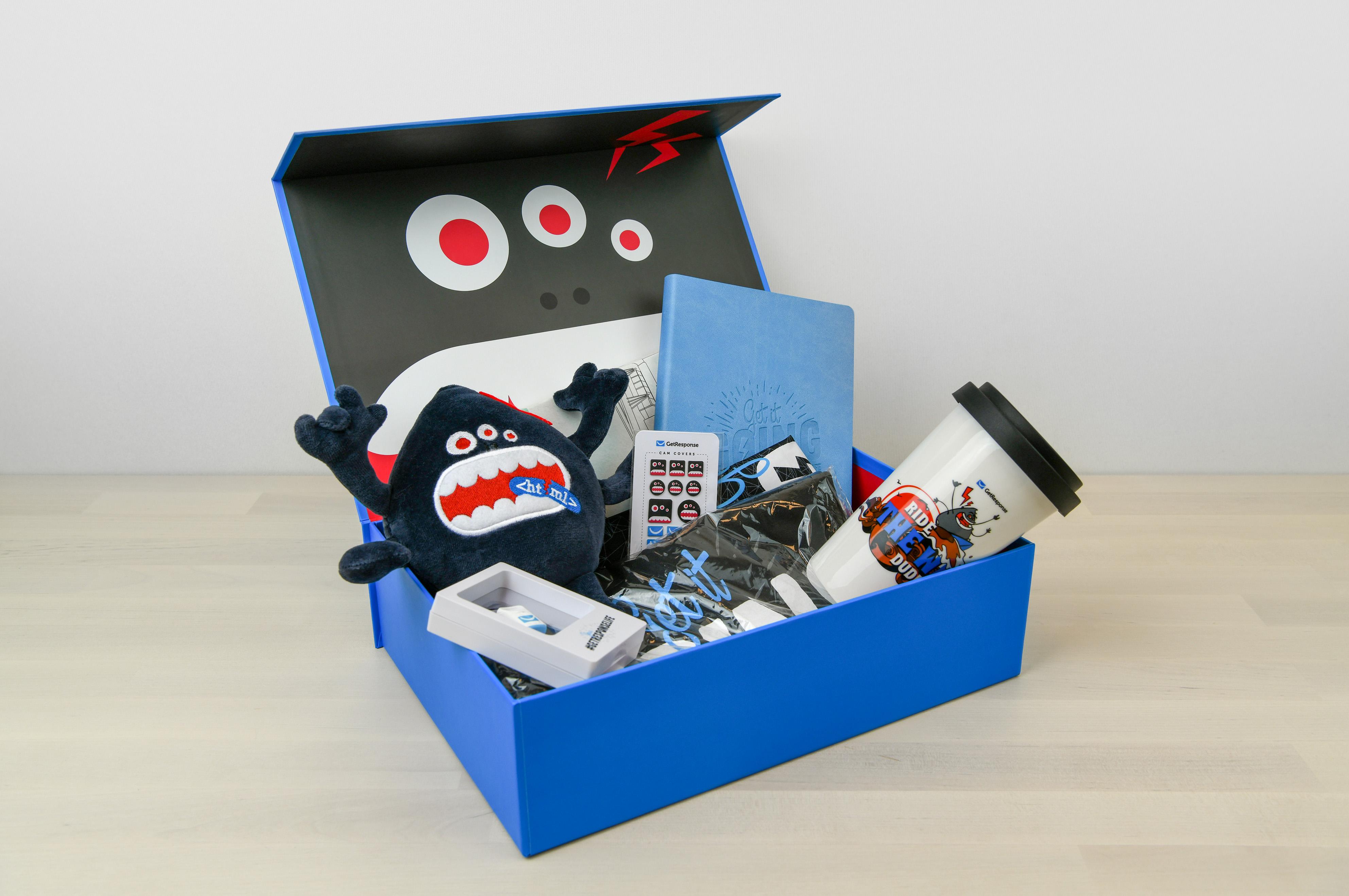 Tak wygląda welcome box w GetResponse (fot. GetResponse)