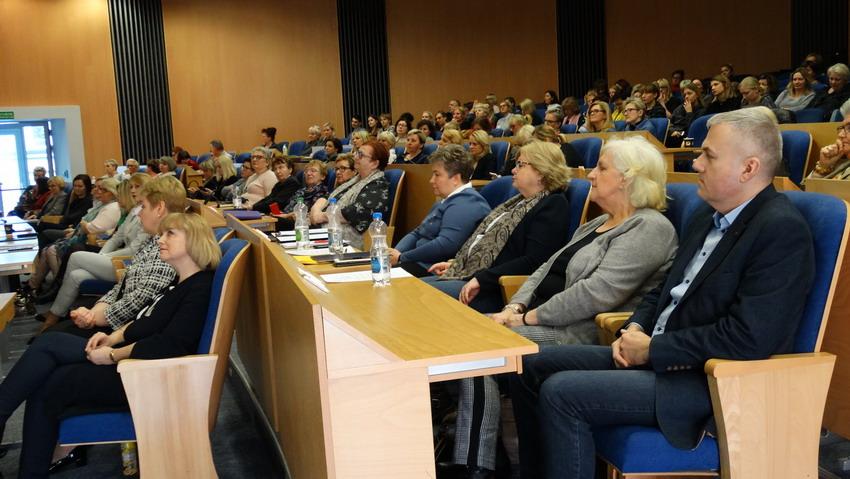 Uczestnicy konferencji w Urzędzie Marszałkowskim Województwa Pomorskiego (fot. Dorota Kulka)