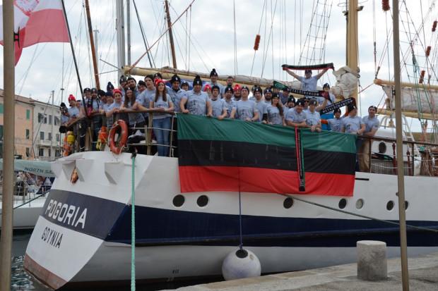 Załoga AGH Pogorią przepłynęła Morze Śródziemne w 100-lecie uczelni