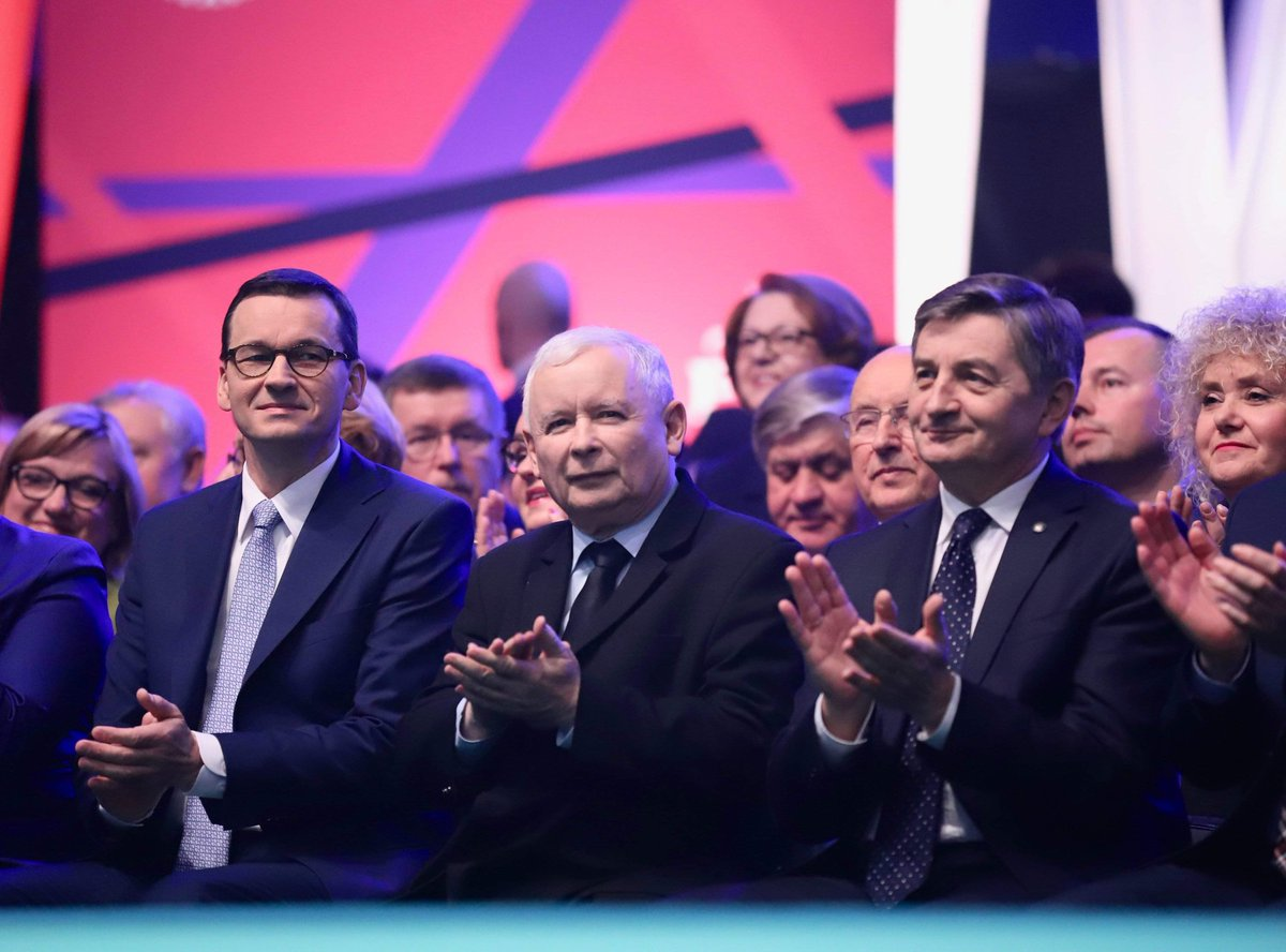 Zapowiedzi zmian padły podczas sobotniej (23 lutego) konwencji PiS (fot. Twitter PiS)