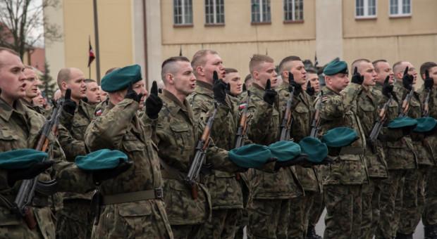 Żołnierze Narodowych Sił Rezerwowych złożyli przysięgę