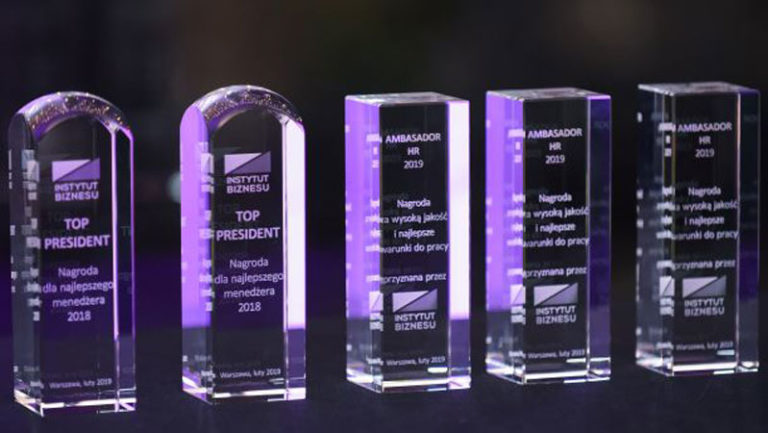 Nagrody TOP President (fot. instytutbiznesu.com.pl)