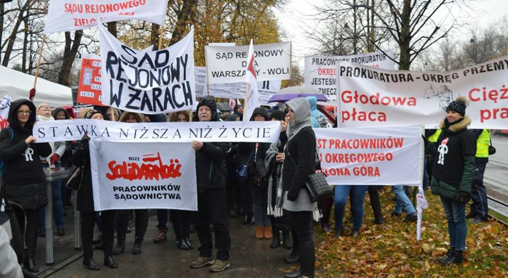 Jutro manifestacja pracowników sądów i prokuratur. Domagają się podwyżek