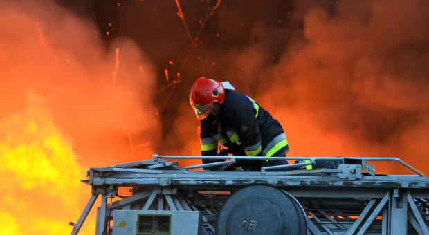 Wybuch w zakładzie produkcyjnym w Złotoryi. Dwie osoby ranne, 74 ewakuowane