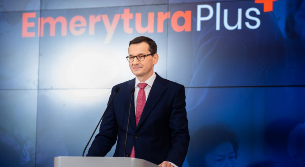 Morawiecki o nowym 500 plus i Emeryturze plus w dobie spowolnienia gospodarczego