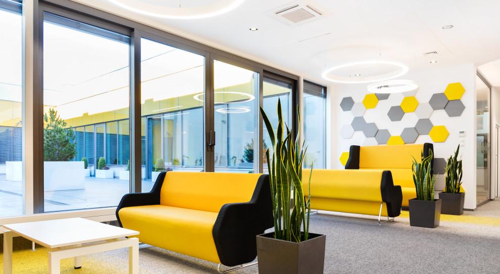 Przykład naturalnie, dobrze oświetlonej przestrzeni biurowej (fot.materiały prasowe/media.lightscape.pl)