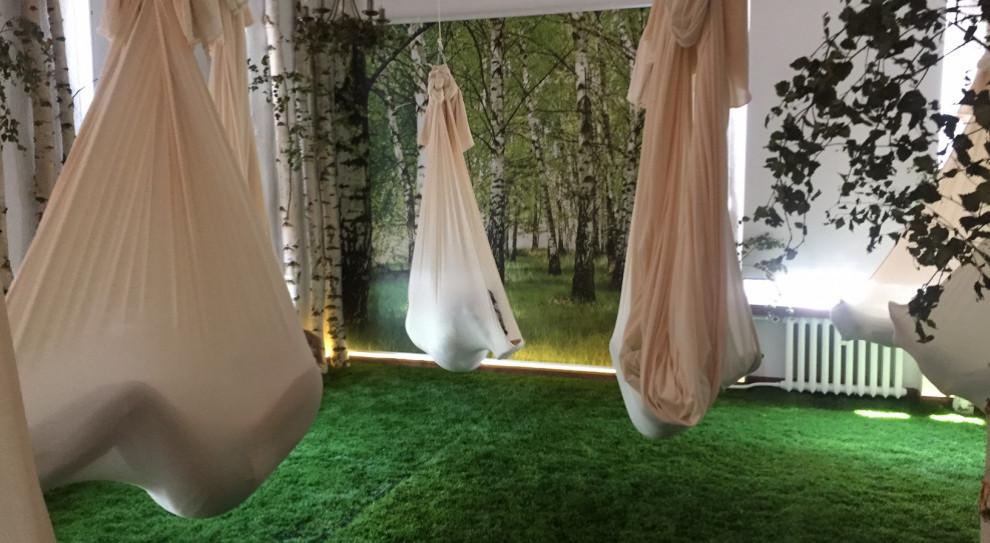 Vinci Power Nap to miejsce, w którym osoby odpoczywają jak na łonie przyrody (Fot. mat. pras.)