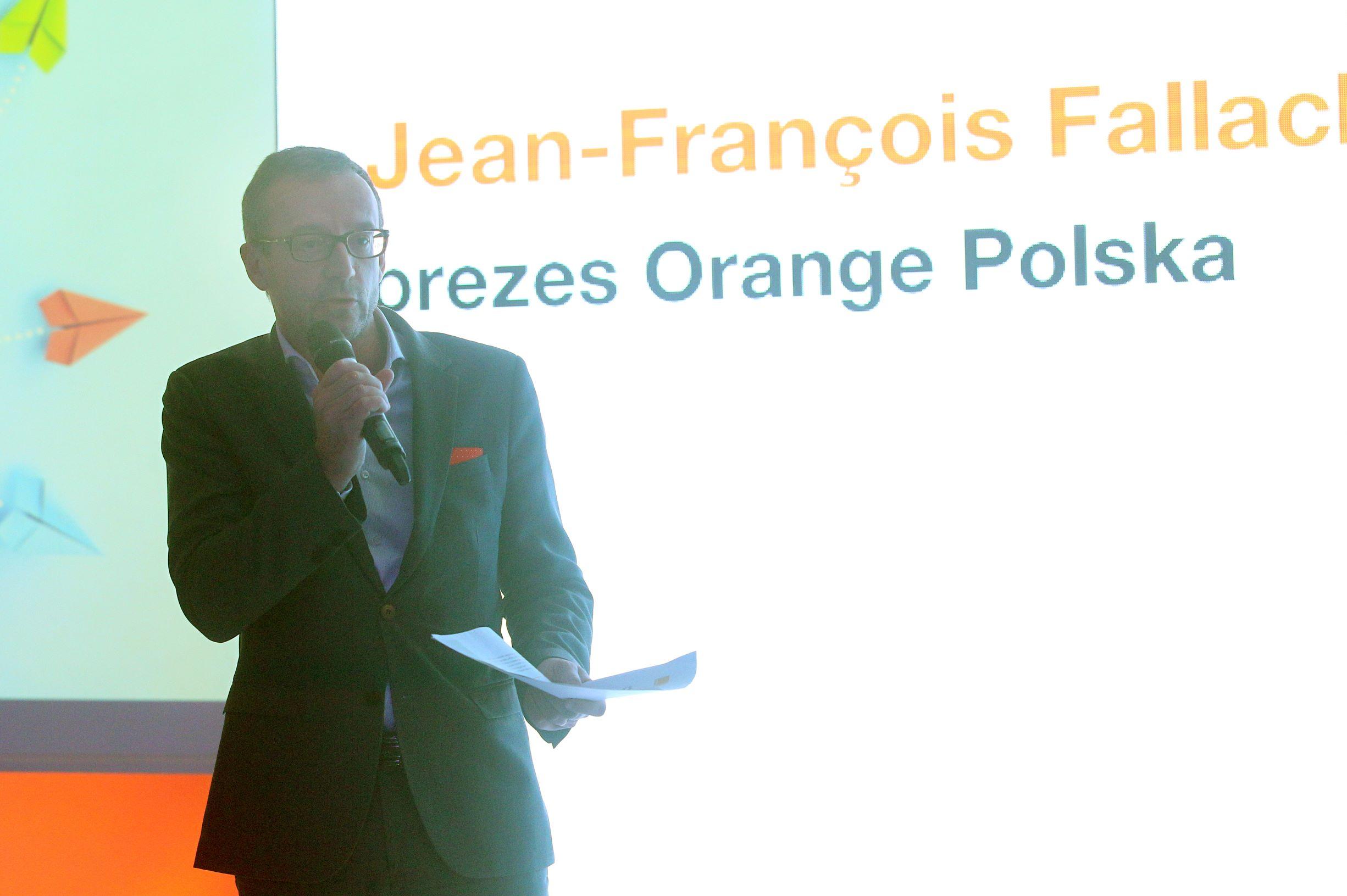 Jean-François Fallacher, prezes Orange Polska (fot. Konrad Korgul)