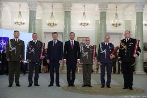 Pięciu nowych generałów. Prezydent wręczył nominacje