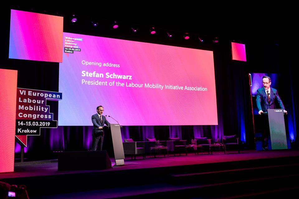 Stefan Schwarz (fot. Facebook/Inicjatywa Mobilność Pracy)