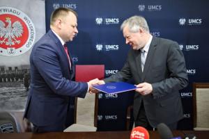 Uniwersytet Marii Curie-Skłodowskiej będzie współpracować z Służbą Kontrwywiadu Wojskowego