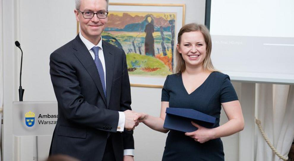 Paulina Pergoł laureatką Nagrody Pielęgniarskiej Królowej Sylwii